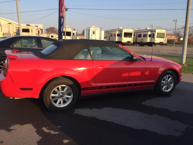 2005 Ford Mustang V6 Premium Convertible for sale at Mull's Auto Sales