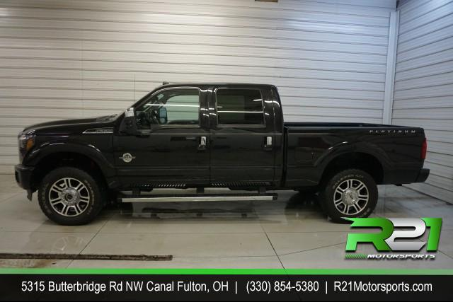 2014 FORD F-350 SD PLATINUM 6.7L POWERSTROKE DIESEL for sale at R21 Motorsports