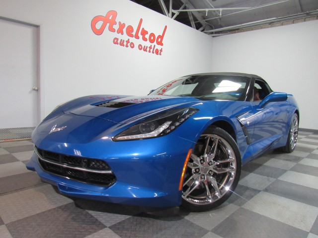 2016 Chevrolet Corvette Z51 2LT Convertible