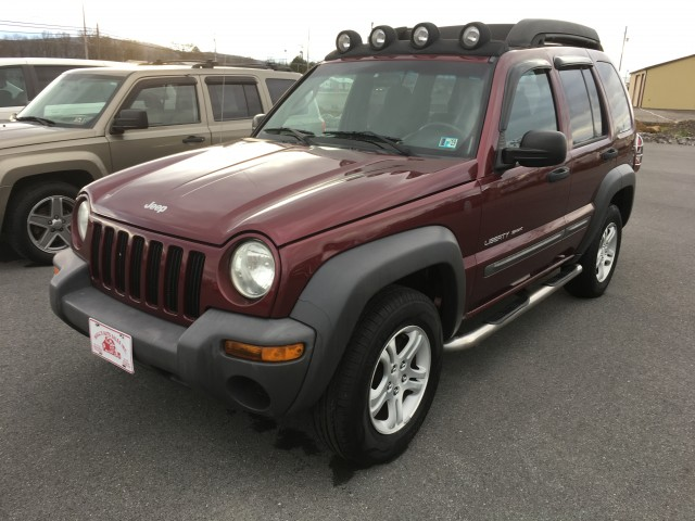 2003 Jeep Liberty Sport 4WD for sale at Mull's Auto Sales