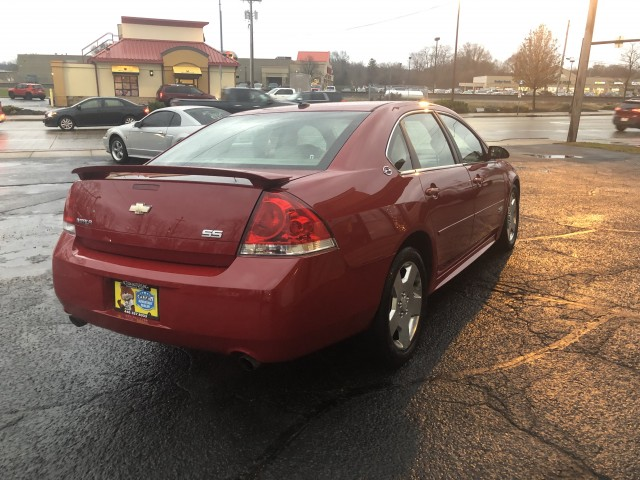 2008 CHEVROLET IMPALA SUPER SPORT for sale at Action Motors
