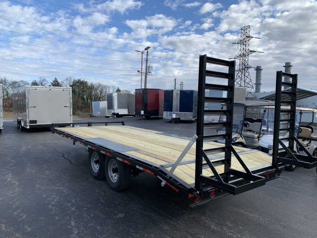 2021 RINGO 8.6 X 20 DECK OVER  for sale at Mull's Auto Sales
