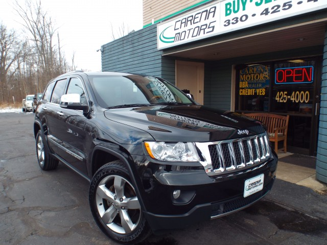 2013 JEEP GRAND CHEROKEE OVERLAND for sale in Twinsburg, Ohio