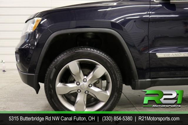 2012 JEEP GRAND CHEROKEE OVERLAND - 4WD - ALL THE OPTIONS - PRICED TO SELL - BRING ON ADVENTURE - CALL 330-854-5380 TODAY! for sale at R21 Motorsports
