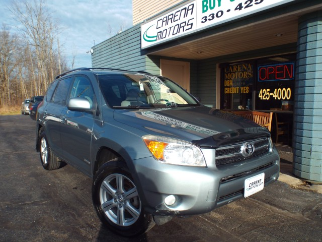 2007 TOYOTA RAV4 LIMITED for sale in Twinsburg, Ohio