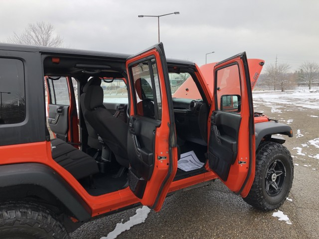 2015 Jeep Wrangler Unlimited Sport 4WD for sale at Summit Auto Sales