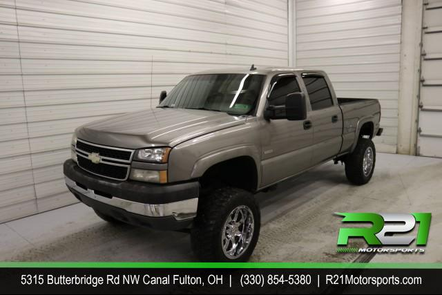 2007 CHEVY SILVERADO 2500HD LT - CREW CAB - 4x4 - TO NICE NOT TO BE DRIVEN - SOMEONE COME BUY THIS!! CALL 330-854-5380 TODAY for sale at R21 Motorsports