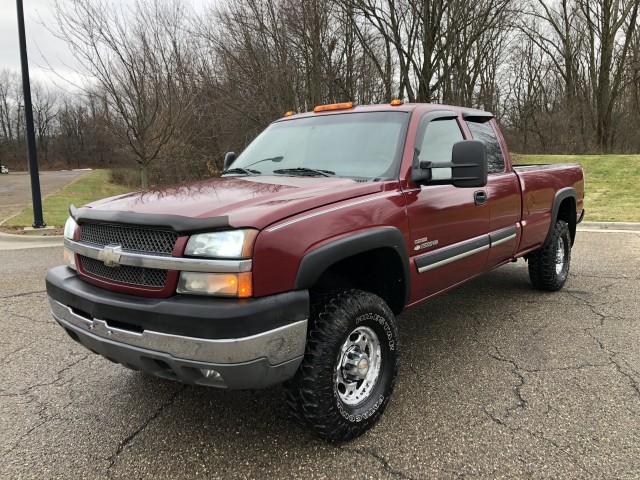 2004 Chevrolet Silverado 2500HD Work Truck Ext. Cab  4WD 6.6L TURBO DIESEL  for sale at Summit Auto Sales